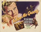 Follow Me Quietly - Movie Poster (xs thumbnail)