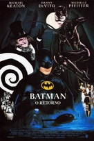 Batman Returns - Brazilian Movie Poster (xs thumbnail)