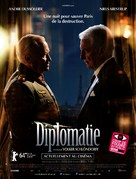 Diplomatie - French Movie Poster (xs thumbnail)
