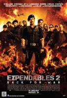 The Expendables 2 - Singaporean Movie Poster (xs thumbnail)