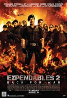 The Expendables 2 - Singaporean Movie Poster (xs thumbnail)