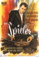 The Great Sinner - German Movie Poster (xs thumbnail)