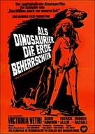 When Dinosaurs Ruled the Earth - German Movie Poster (xs thumbnail)