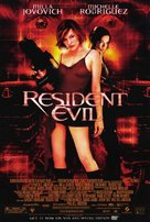 Resident Evil - Video release movie poster (xs thumbnail)