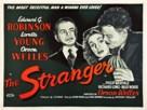 The Stranger - British Theatrical poster (xs thumbnail)