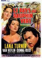 Green Dolphin Street - Belgian Movie Poster (xs thumbnail)