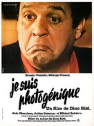 Sono fotogenico - French Movie Poster (xs thumbnail)