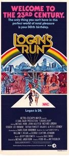 Logan's Run - Australian Movie Poster (xs thumbnail)