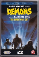 Demoni - British DVD cover (xs thumbnail)