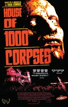 House of 1000 Corpses - Swedish VHS movie cover (xs thumbnail)
