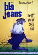 Blue Denim - Swedish Movie Poster (xs thumbnail)