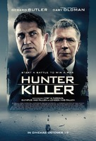 Hunter Killer - British Movie Poster (xs thumbnail)