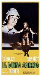 La donna scimmia - Italian Movie Poster (xs thumbnail)