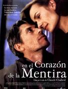 Au coeur du mensonge - Spanish Movie Poster (xs thumbnail)
