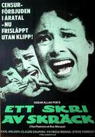 Phantom of the Rue Morgue - Swedish Movie Poster (xs thumbnail)