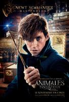 Fantastic Beasts and Where to Find Them - Spanish Movie Poster (xs thumbnail)