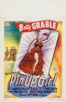 Pin Up Girl - Belgian Movie Poster (xs thumbnail)