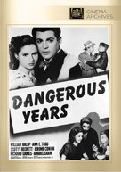 Dangerous Years - DVD cover (xs thumbnail)