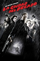 Sin City - Argentinian DVD cover (xs thumbnail)
