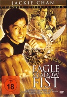 Eagle Shadow Fist - German DVD cover (xs thumbnail)