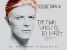 The Man Who Fell to Earth - British Re-release movie poster (xs thumbnail)