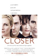 Closer - Italian Movie Poster (xs thumbnail)