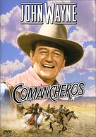 The Comancheros - DVD cover (xs thumbnail)