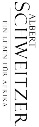 Albert Schweitzer - German Logo (xs thumbnail)