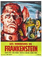 The Horror of Frankenstein - French Movie Poster (xs thumbnail)