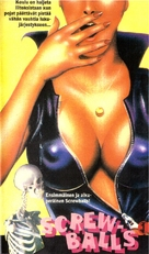 Screwballs - Finnish VHS cover (xs thumbnail)