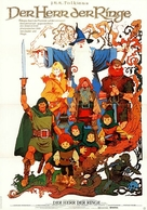 The Lord Of The Rings - German Movie Poster (xs thumbnail)