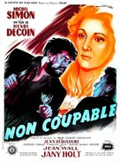 Non coupable - French Movie Poster (xs thumbnail)