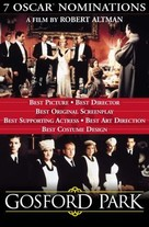 Gosford Park - Dutch Movie Poster (xs thumbnail)