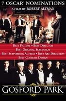 Gosford Park - Dutch Movie Poster (xs thumbnail)
