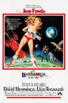 Barbarella - Theatrical movie poster (xs thumbnail)