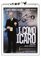 I... comme Icare - Spanish Movie Cover (xs thumbnail)