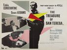 The Treasure of San Teresa - British Movie Poster (xs thumbnail)