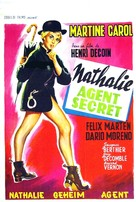 Nathalie, agent secret - Belgian Movie Poster (xs thumbnail)