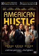 American Hustle - Finnish DVD movie cover (xs thumbnail)