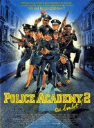 Police Academy 2: Their First Assignment - French Movie Poster (xs thumbnail)
