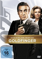 Goldfinger - German DVD cover (xs thumbnail)