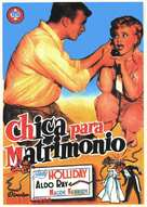 The Marrying Kind - Spanish Movie Poster (xs thumbnail)