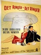 Bells Are Ringing - Danish Movie Poster (xs thumbnail)
