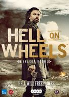 """Hell on Wheels"" - Danish DVD cover (xs thumbnail)"