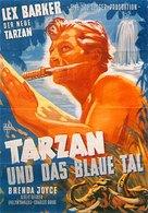 Tarzan's Magic Fountain - German Movie Poster (xs thumbnail)