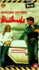 Badlands - British VHS movie cover (xs thumbnail)