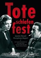 The Big Sleep - German Movie Poster (xs thumbnail)