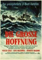 La grande speranza - German Movie Poster (xs thumbnail)