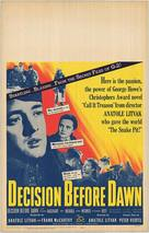 Decision Before Dawn - Movie Poster (xs thumbnail)