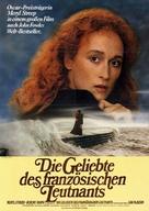 The French Lieutenant's Woman - German Movie Poster (xs thumbnail)